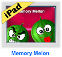 memory melon game for iPad