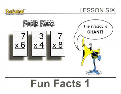 Lesson 6 Focus Facts