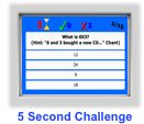 multiplication game- 5 second challenge