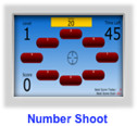 multiplication game- numbershoot