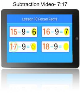 Lesson 10 Subtraction Video