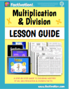 Multiplication Division Lesson Guide