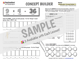 Multiplication Concept Builder