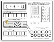 multiplication and division concept builder