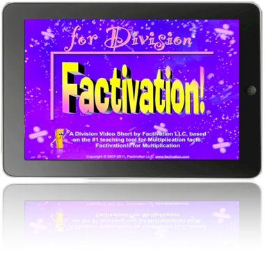 Lesson 1 Division – Factivation