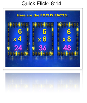 The Lesson 5 video teaches the Half-Whole multiplication trick.