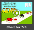 multiplication chant for 7x6