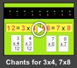 multiplication chant for 3x4